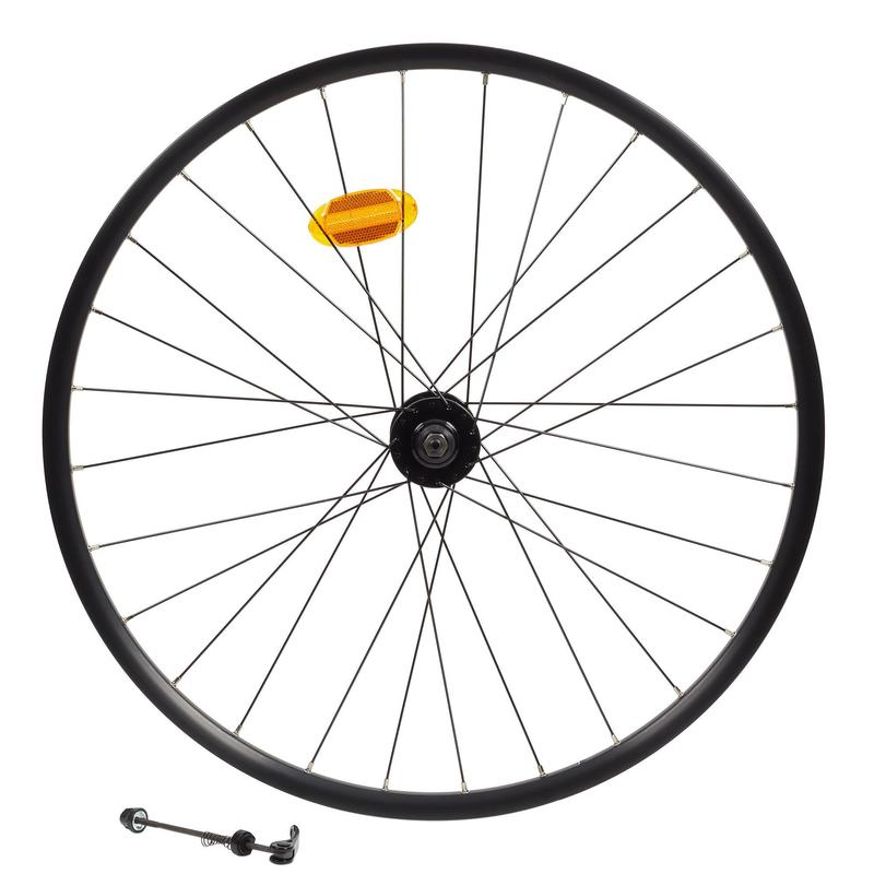 Front Wheel 27.5 x23C Double-Walled Rim Disc Mountain Bike - Black