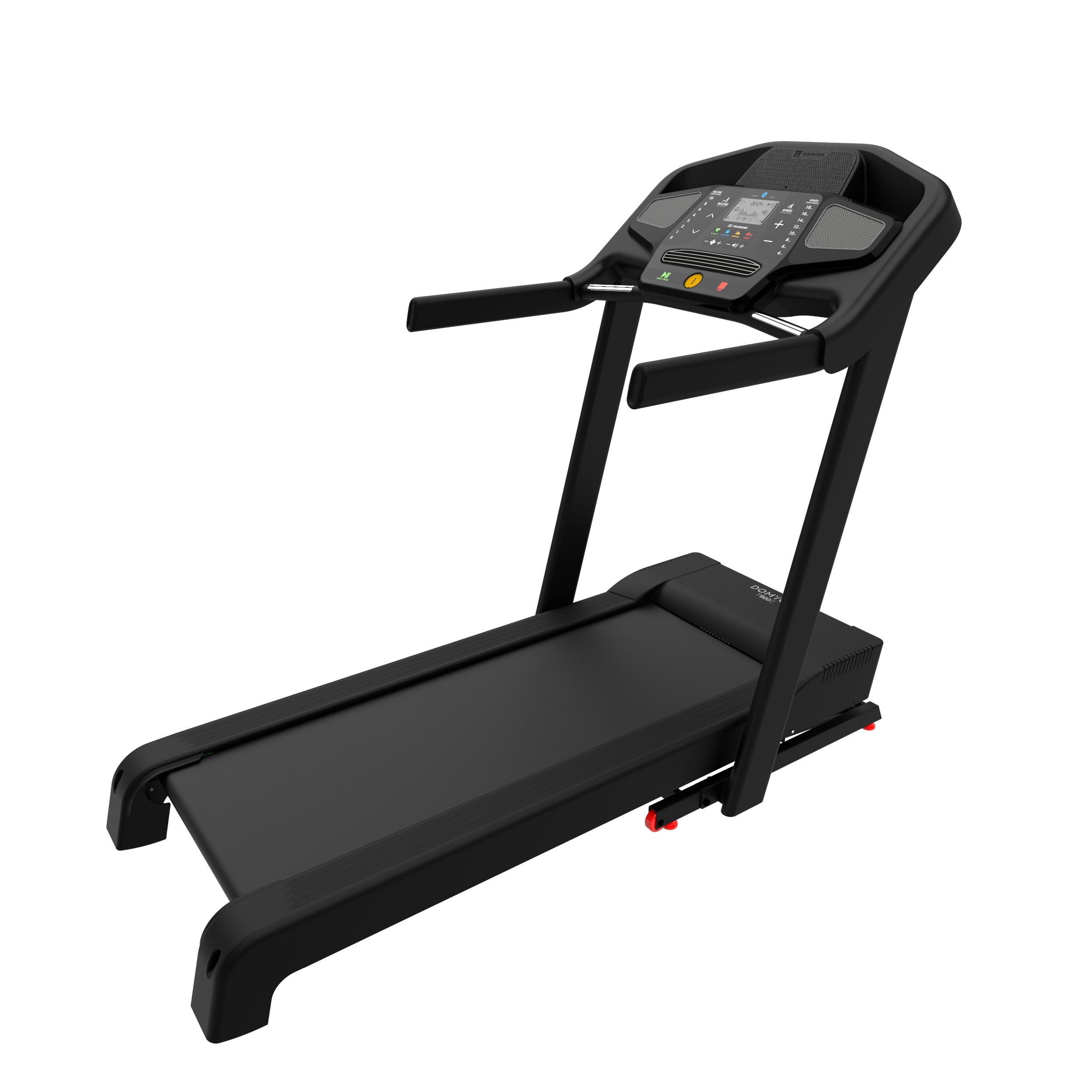 Cinta de correr plegable eléctrica Domyos T900C