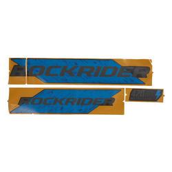 Batterijstickers E-ST 500 blauw