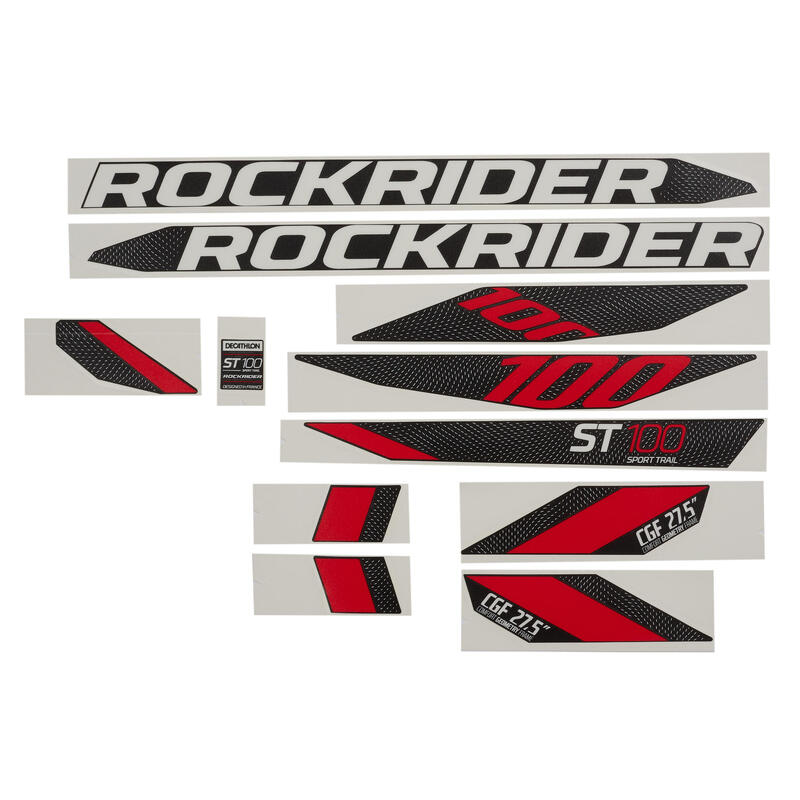 Stickers Set ST 100 - Black
