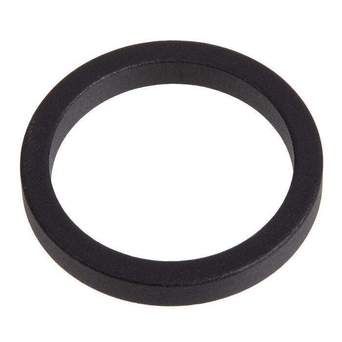 """Abstandhalter 1""""1/8 Ahead 5mm, Außendurchmesser:36 mm schwarz"""
