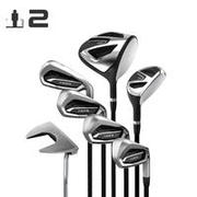 Golf Kit 7 Clubs Adult 100 Right Handed Size 2