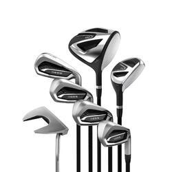 Golfset 100 van 7 clubs voor volwassenen rechtshandig maat 2 grafiet