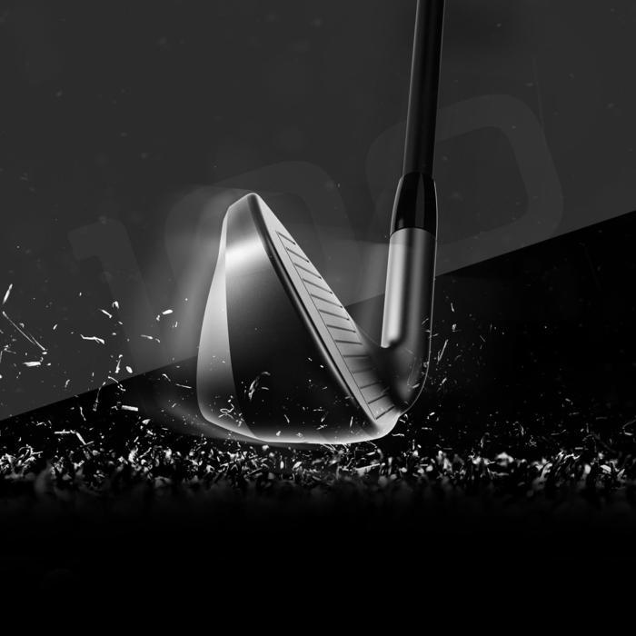 Golfijzer 100 volwassenen linkshandig staal maat 2, per stuk