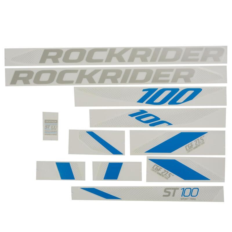 Stickers Set ST 100 - Grey