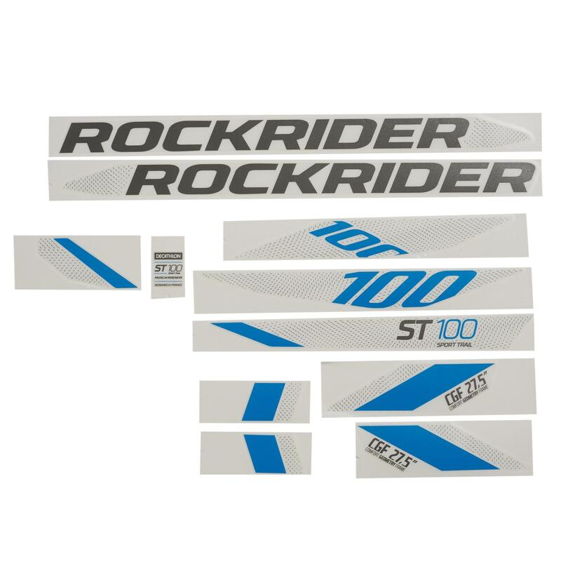 Kit adesivi ST100 blu