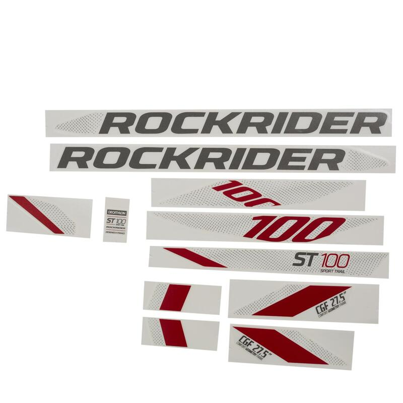 Stickers Set ST 100 - Red