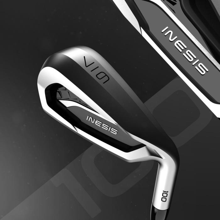 Golfclub iron per stuk 100 volwassenen linkshandig maat 1 grafiet