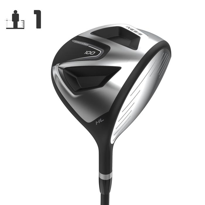 DRIVER 100 ADULTE Droitier GRAPHITE Taille 1