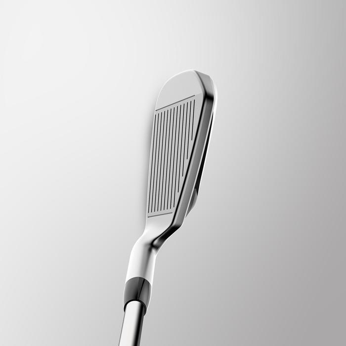 Palo Golf 100 Adulto Hierro Unidad Diestro Acero Talla 2