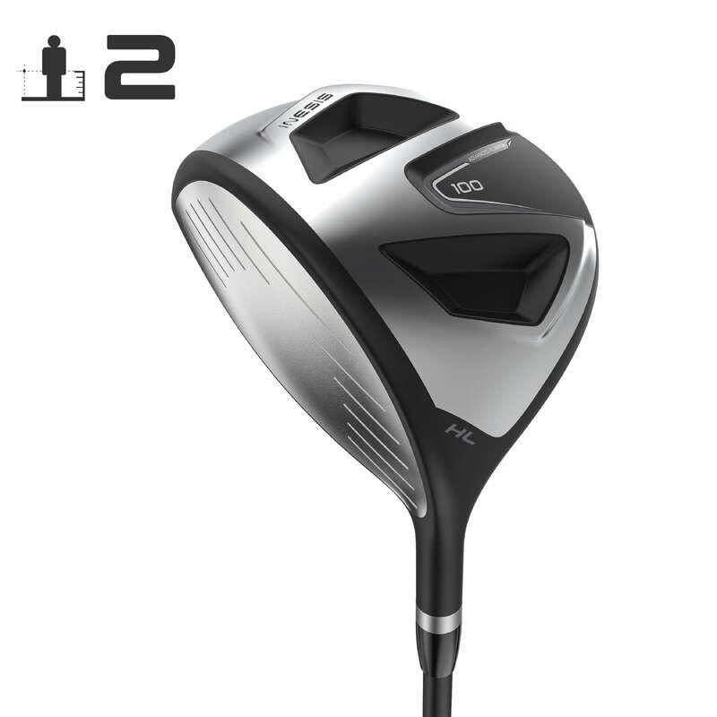 GOLFKLUBOK KEZD# Golf - Balkezes hibrid ütő 100-as  INESIS - Golfütő, golflabda