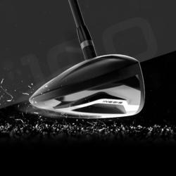 Driver Golf 100 Adulto Zurdo Grafito Talla 2