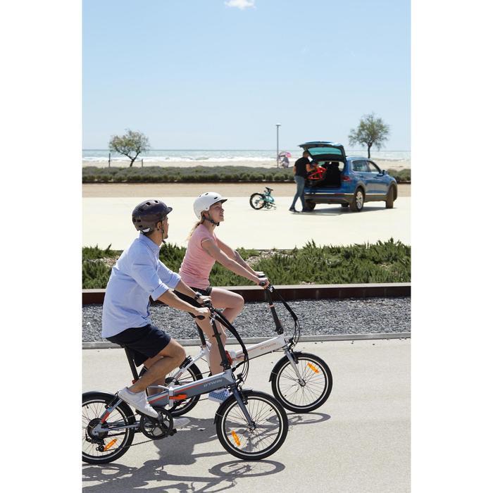 "E-Bike Faltrad Klapprad 20"" Tilt 500E grau/orange"