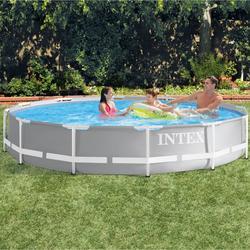 Metal frame zwembad 366 x 76 cm