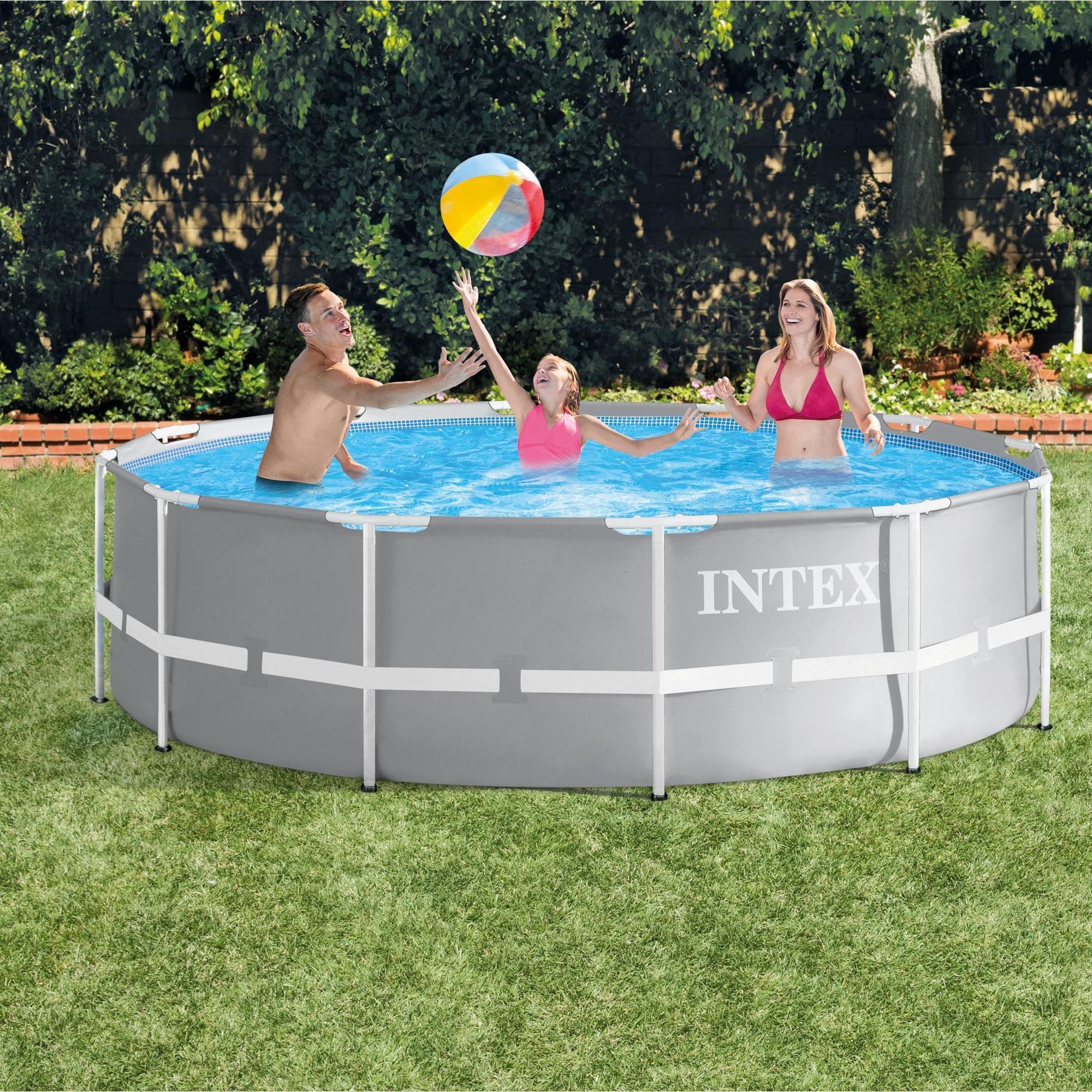 Intex Grande Piscine Tubulaire Intex 366x99 Decathlon