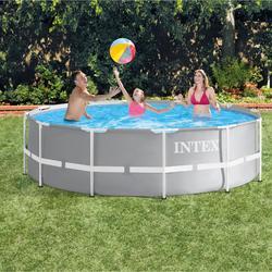 Groot opzetzwembad Intex 366x99