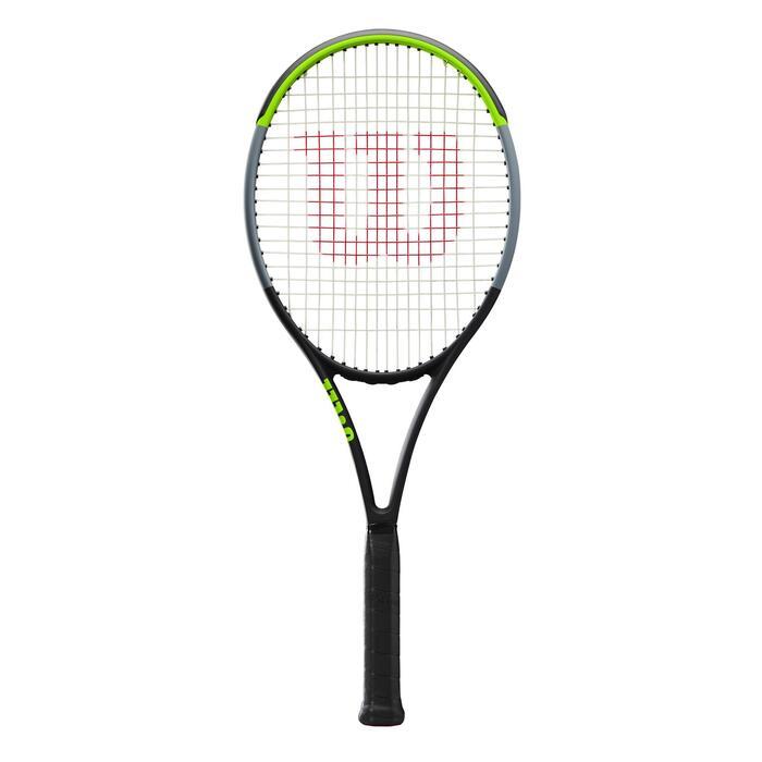 Raquette de Tennis Adulte Blade 100L noir vert