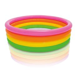 INTEX sunset glow pool, 4-ring