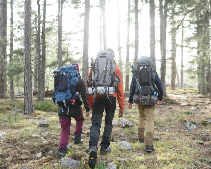 迪卡儂環保產品:登山背包