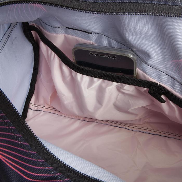 Sporttasche Fitness Cardiotraining 20l schwarz bedruckt