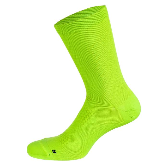 900 Road Sport Cycling Socks - Neon Yellow