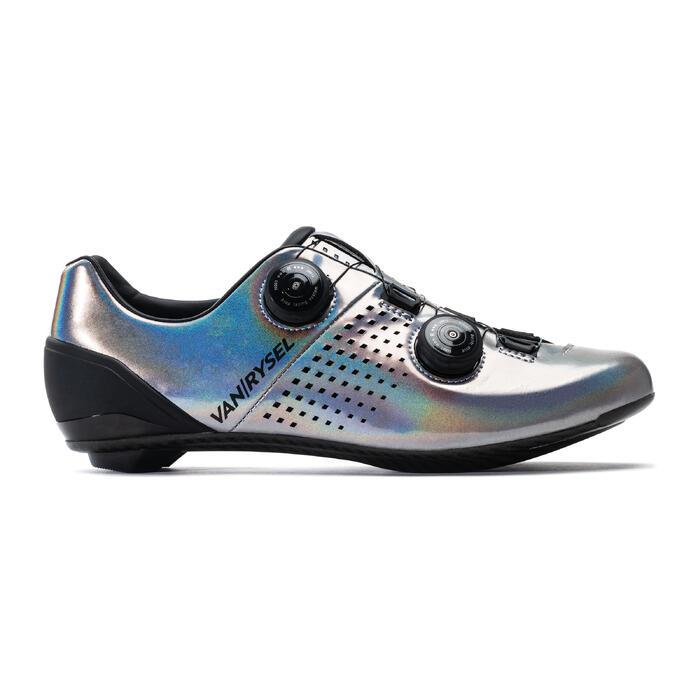 Chaussures de vélo VAN RYSEL gris iridescent