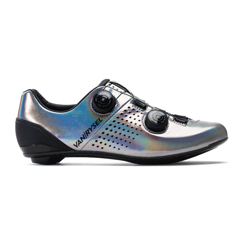 Chaussures de vélo cyclo-sport VAN RYSEL gris iridescent