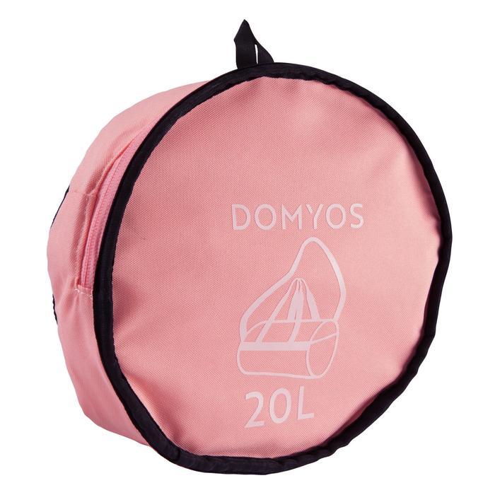Tas voor cardiofitness 20 liter zalmroze