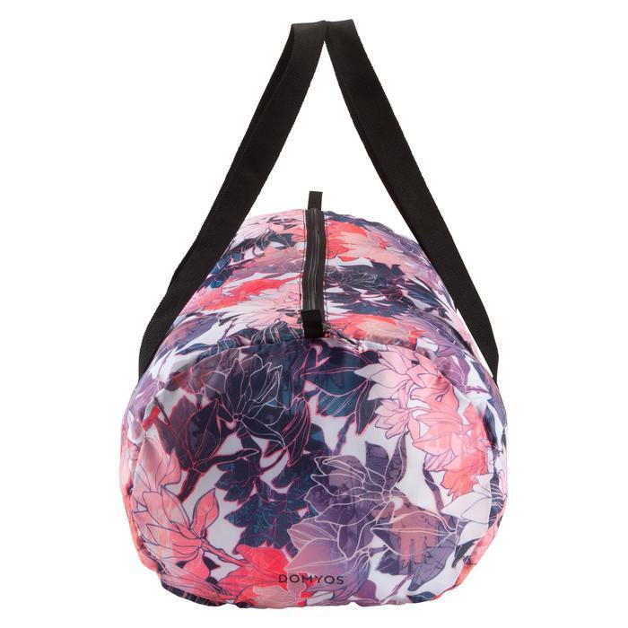 Opvouwbare tas voor cardiofitness 30 l roze
