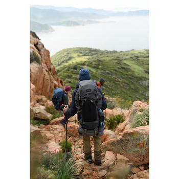 Merino Wool Mountain Trekking Hat - TREK 500 - Blue