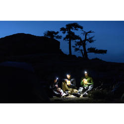 Rechargeable Trekking Head Torch - TREK 500 USB - 200 lumens - Blue