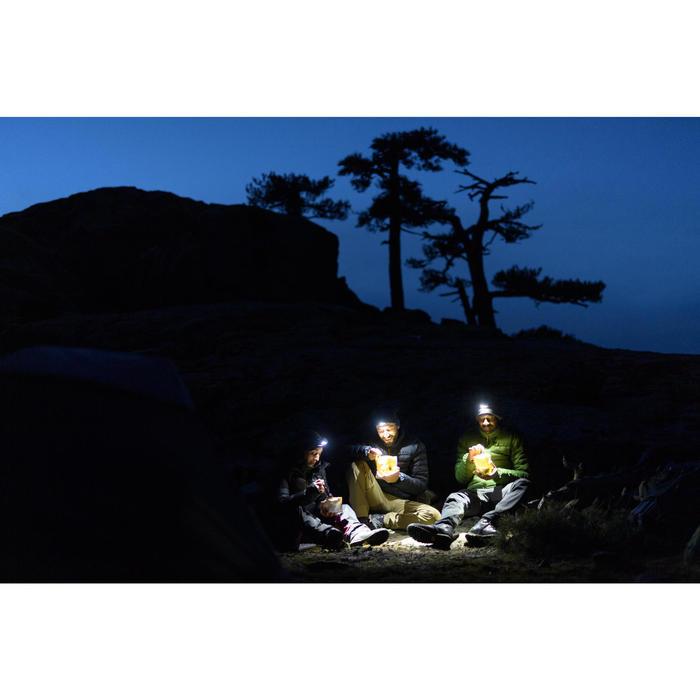 USB-herlaadbare trekkinghoofdlamp Trek 500 blauw 200 lumen