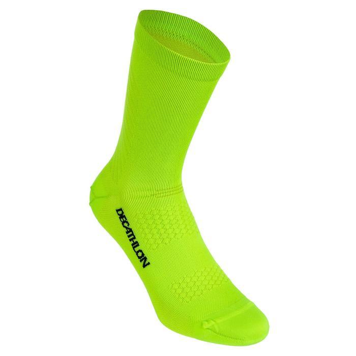 Chaussettes de vélo route cyclosport 900 jaune fluo