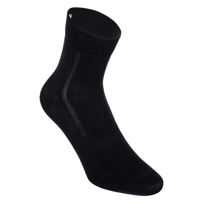 Fahrrad-Socken Roadr 500 schwarz