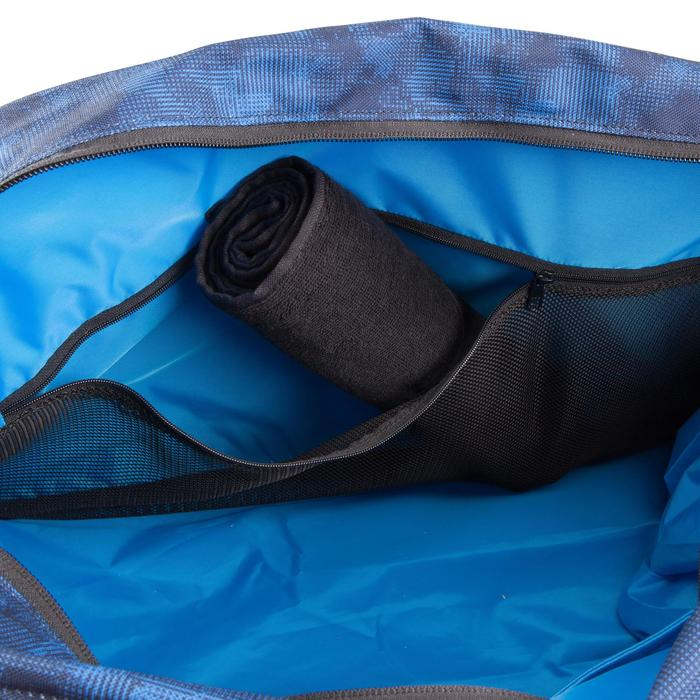 Sac cardio fitness training 30L noir et bleu