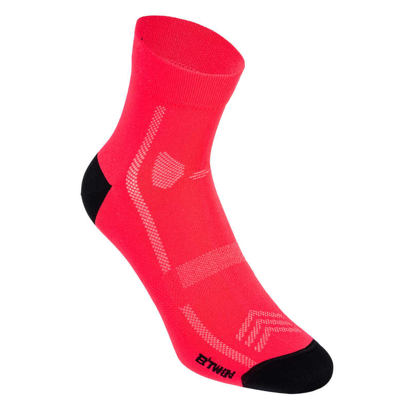 ROAD SOCKS WARM WEATHER Cycling - RoadR 500 Cycling Socks VAN RYSEL - Clothing