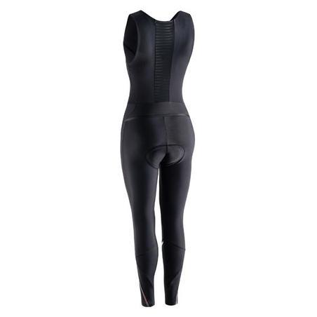Cycling quick zip bib tights - Women