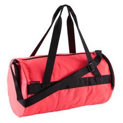 Bolsa de deporte gimnasio petate Cardio Fitness Domyos 20 litros rosa