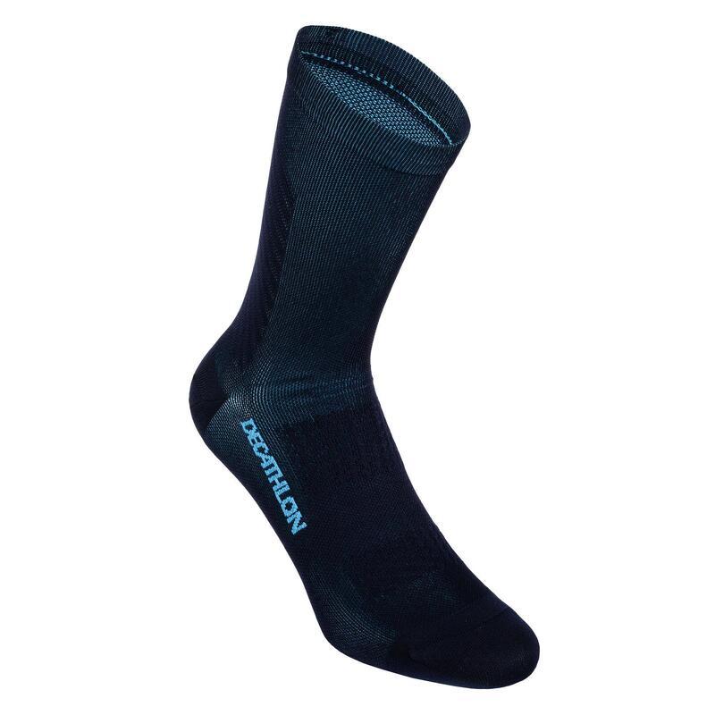 Chaussettes de vélo route cyclosport 900 bleu marine