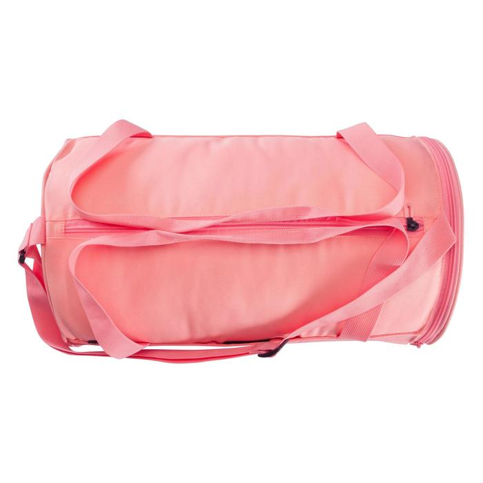 Sac fitness cardio-training 20 Litres rose saumon