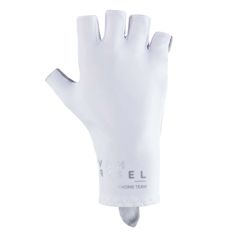 BIKE GLOVES WARM WEATHER Cycling - RR 900 Aerofit Cycling Gloves - White VAN RYSEL - Clothing