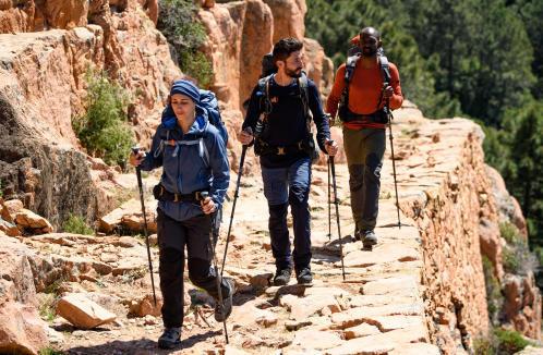 Wandel veilig door de bergen