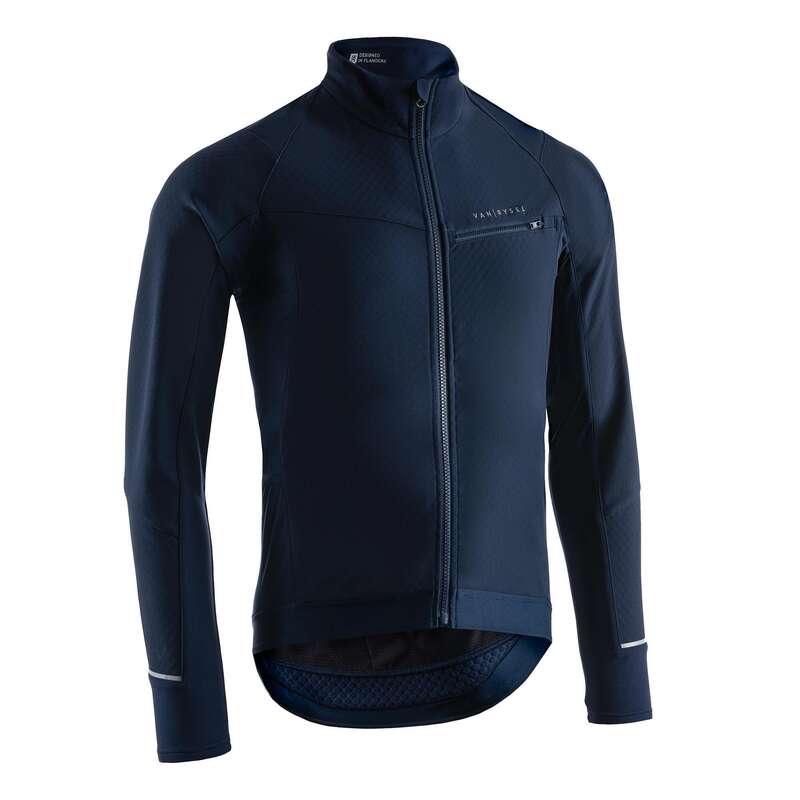 MEN COLD WEATHER ROAD RACING APPAREL Cycling - 500 Winter Road Jacket VAN RYSEL - Cycling