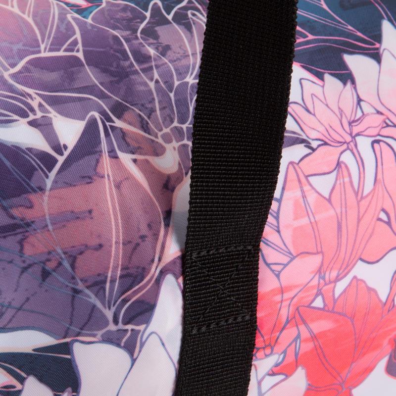 กระเป๋าฟิตเนสพับได้ขนาด 30 ลิตร (พิมพ์ลาย)