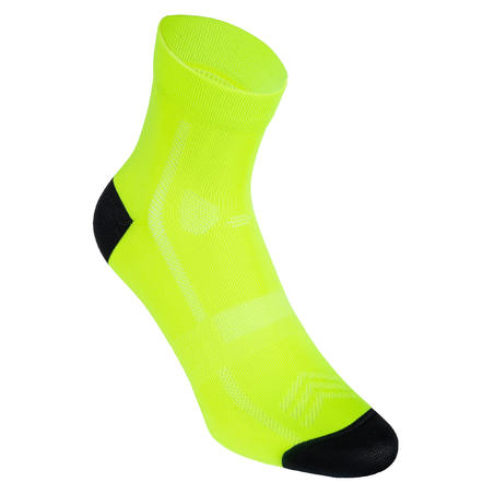 RoadR 500 Cycling Socks - Neon Yellow
