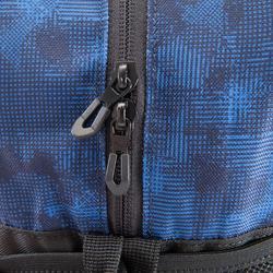 Tas voor cardiofitness 30 liter zwart/blauw