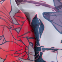 MaletaDeporte Gimasio Fitness Plegable 30L Rosa Floral