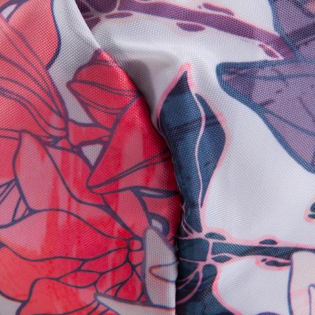 MaletaDeporte Gimnasio Fitness Plegable 30L Rosa Floral