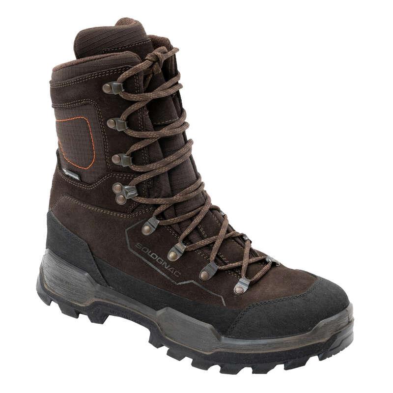LOVECKÁ OBUV Myslivost a lovectví - NEPROMOKAVÉ BOTY CROSSHUNT 520 SOLOGNAC - Myslivecká obuv a ponožky