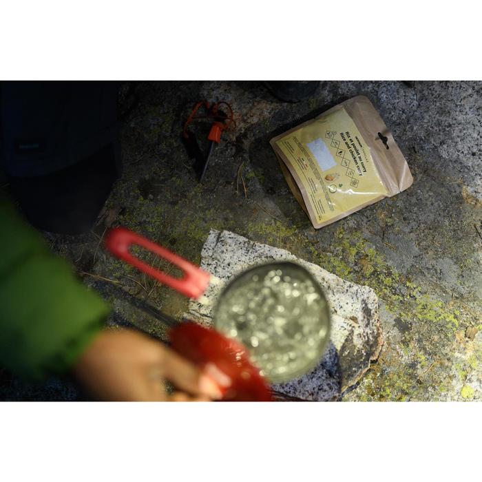 Trekking Cookset Trek 500 Stainless Steel 1 Person
